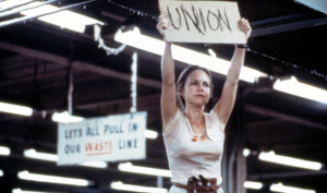 "Sally Field in ""Norma Rae"" - Twentieth Century Fox Corporation, 1979, directed by Marin Ritt."